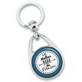 Porte-clés papa - Idée cadeau Papa - fête des pères - Angora - Em création
