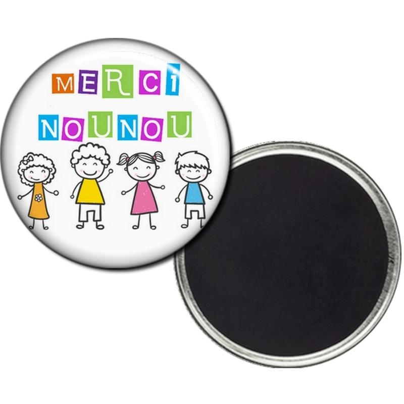 Magnet nounou - Idée cadeau - angora