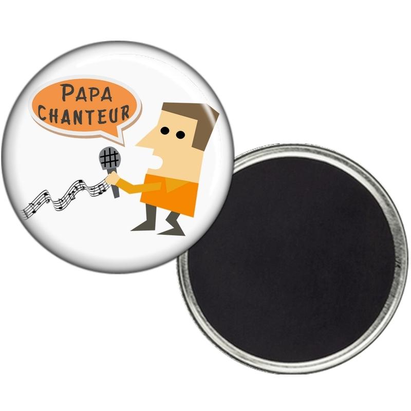 Magnet Papa Chanteur - angora