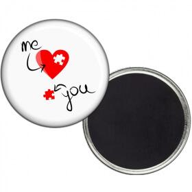 Magnet Saint Valentin - Magnet Amour - angora - Em création