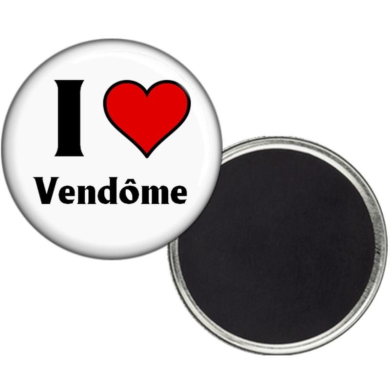 Magnet Vendôme - J'aime Vendôme - Angora