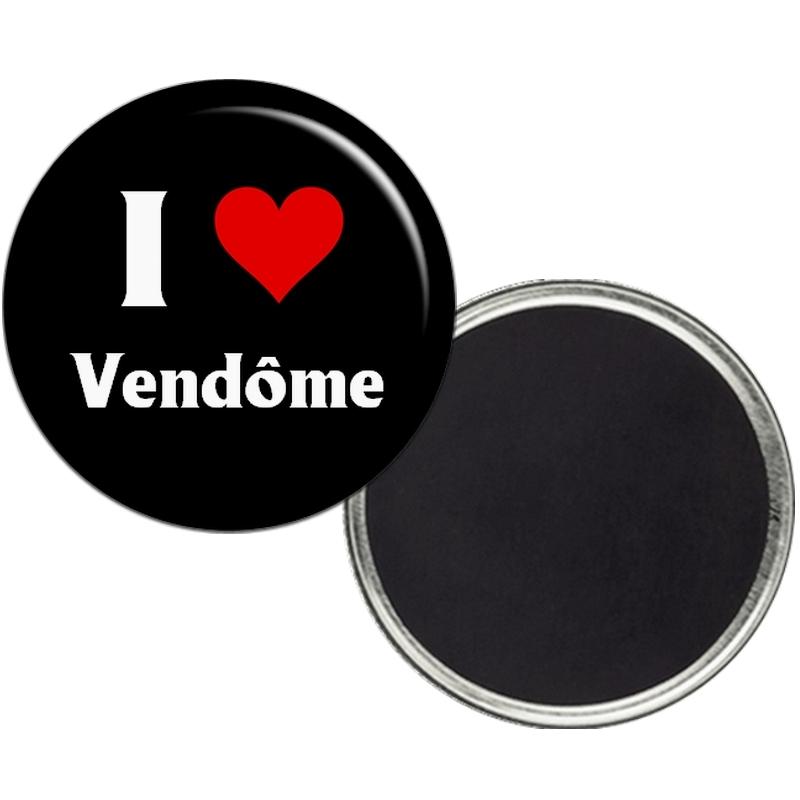 """Magnet """"I love Vendôme"""" - Em création"""
