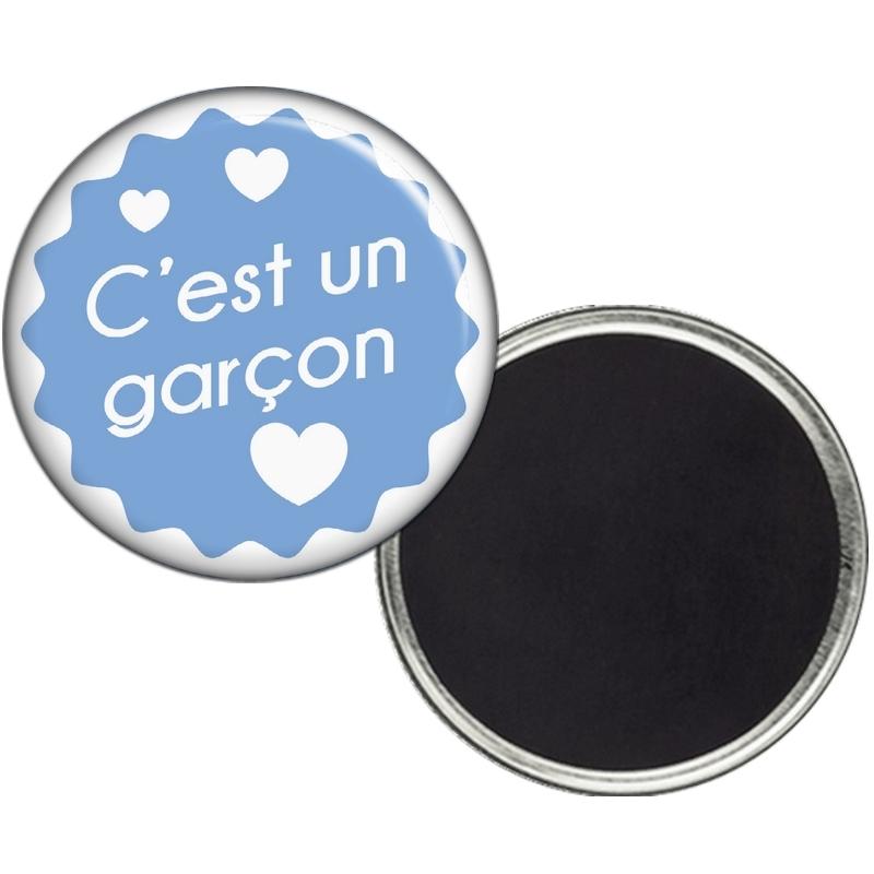 Magnet Garcon - Magnet Naissance - Magnet faire part de Nasisance - angora