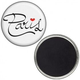 Magnet PARIS LOVE - idée cadeau - Angora - Em création