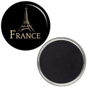 Magnet PARIS - Souvenir de Paris - Farbiqué en France - angora - Em création