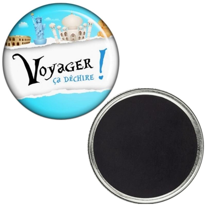 Magnet 'Voyager ça déchire'