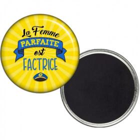 Magnet Factrice - Aimant Factrice - Cadeau Factrice - ANGORA - Em création