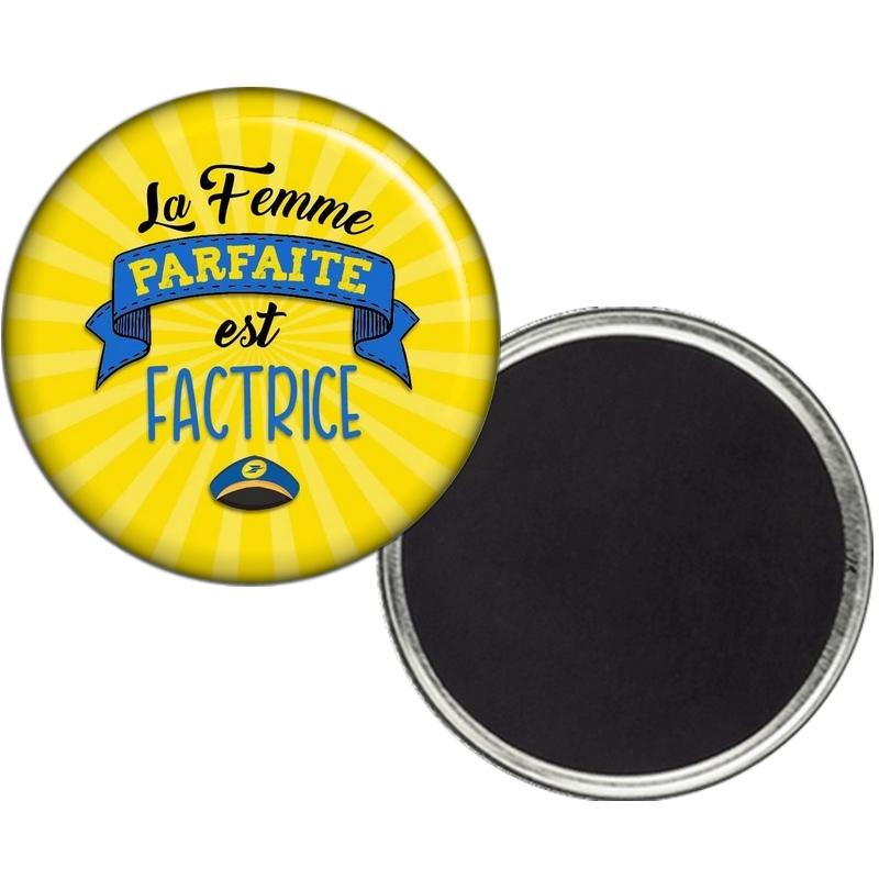 Magnet Factrice - Aimant Factrice - Cadeau Factrice - ANGORA