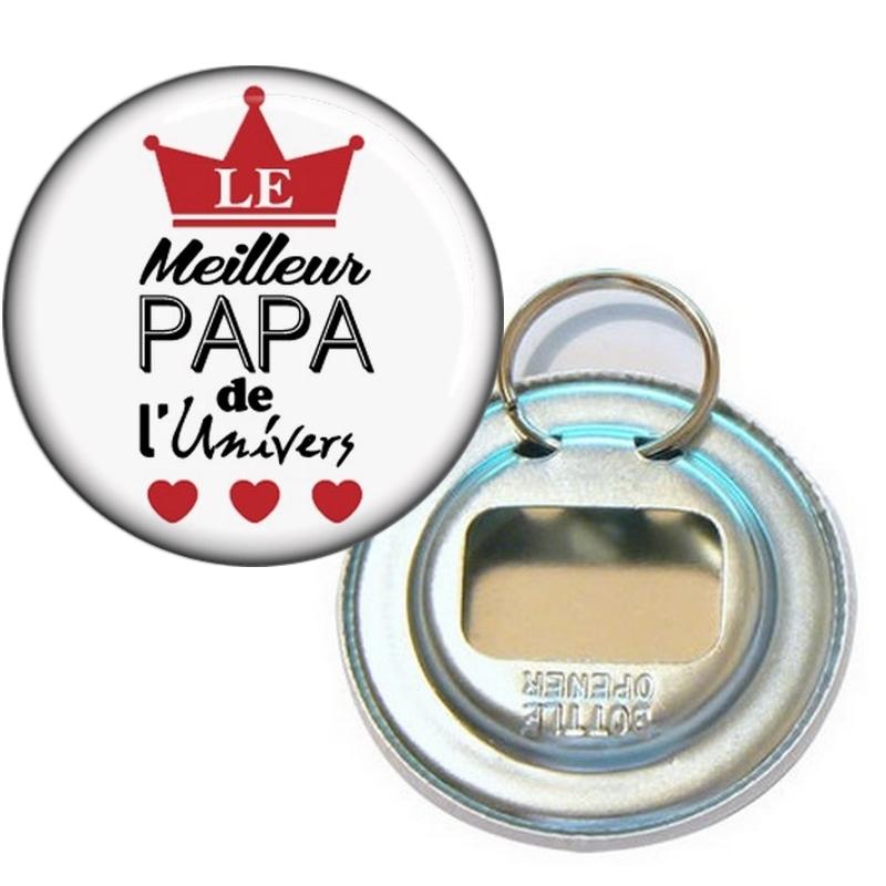 Décapsuleur Meilleur Papa - Idée cadeau Papa - Cadeau fête des pères - angora
