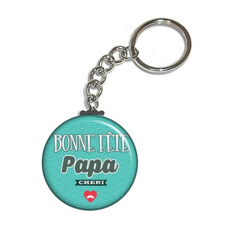 Porte clés papa - Idée cadeau papa - angora