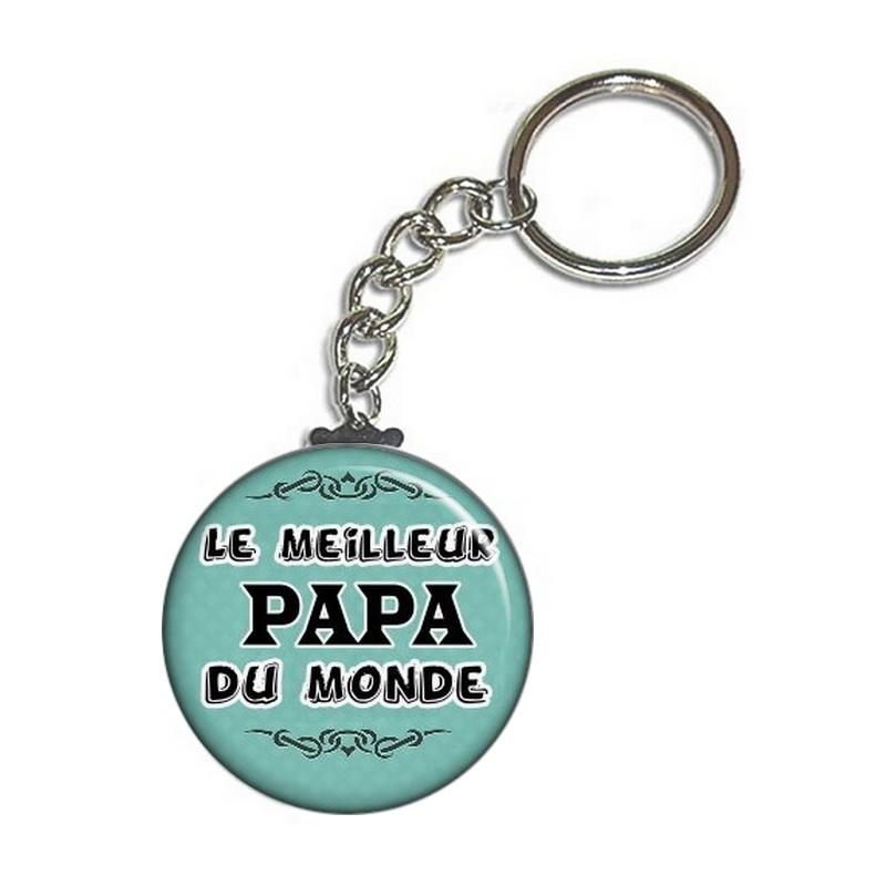Porte clés papa - angora
