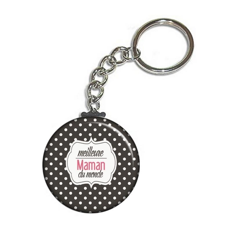 Porte-clés Maman - angora