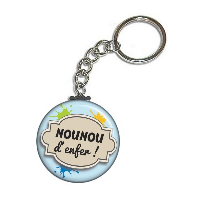 idée cadeau nounou - porte clés pour nounou - toutes vos idées cadeaux pour nounou sur em-creation.fr