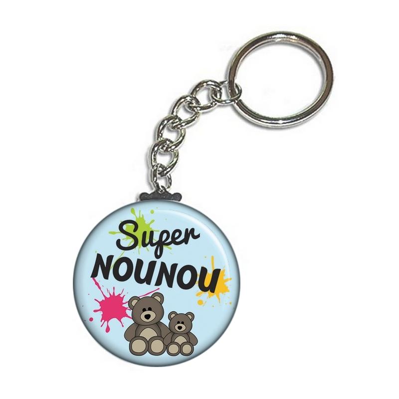 porte clé pour nounou en vente sur em-creation.fr