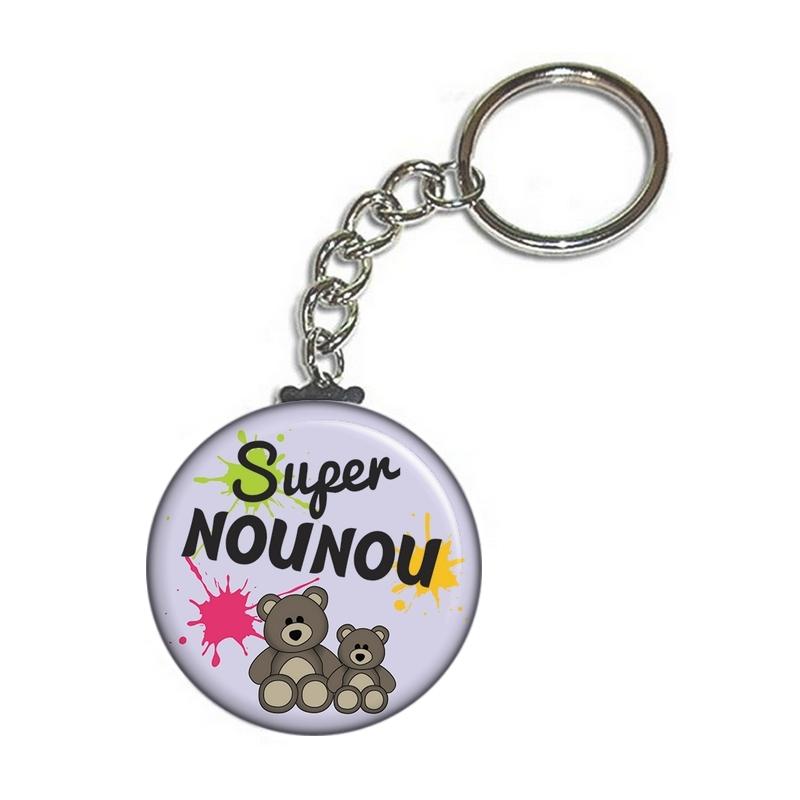 cadeau nounou - porte clé nounou - idée cadeau pour nounou - large choix de cadeau pour nounou sur em-creation.fr