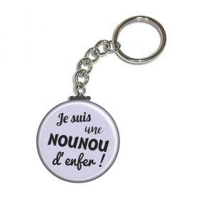 cadeau nounou - porte clé nounou - idée cadeau pour nounou - large choix de cadeau pour nounou sur em-creation.fr - Em création