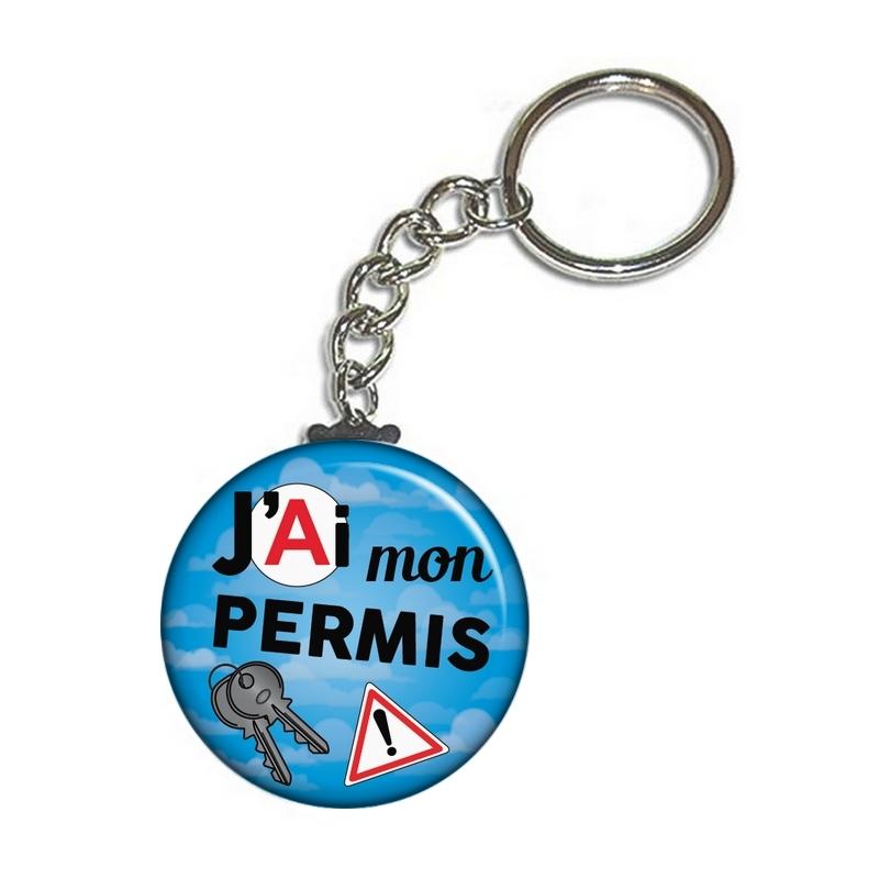 Porte clef permis de conduire - angora