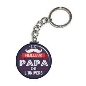 beau porte clés pour papa - idée cadeau papa - cadeau fête des pères - Em création