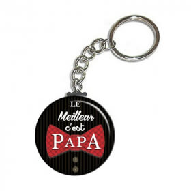 idée cadeau pour papa - cadeaux fête des pères - toutes les idées cadeaux pour papa sont sur em-creation.fr -porte clés papa - Em création