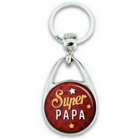 Porte clés Super Papa - Em création