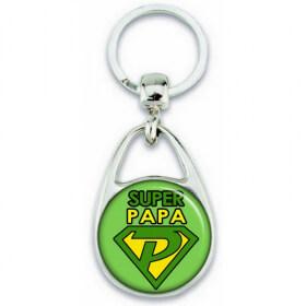 Idée cadeau pour papa - Porte clés Papa - Em création
