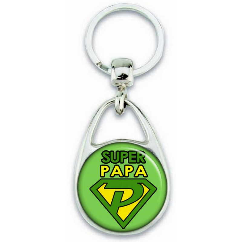 Idée cadeau pour papa - Porte clés Papa