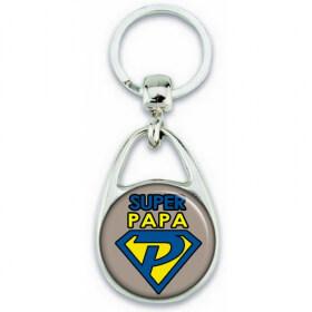 idées cadeau pour papa - porte clés personnalisable - Em création