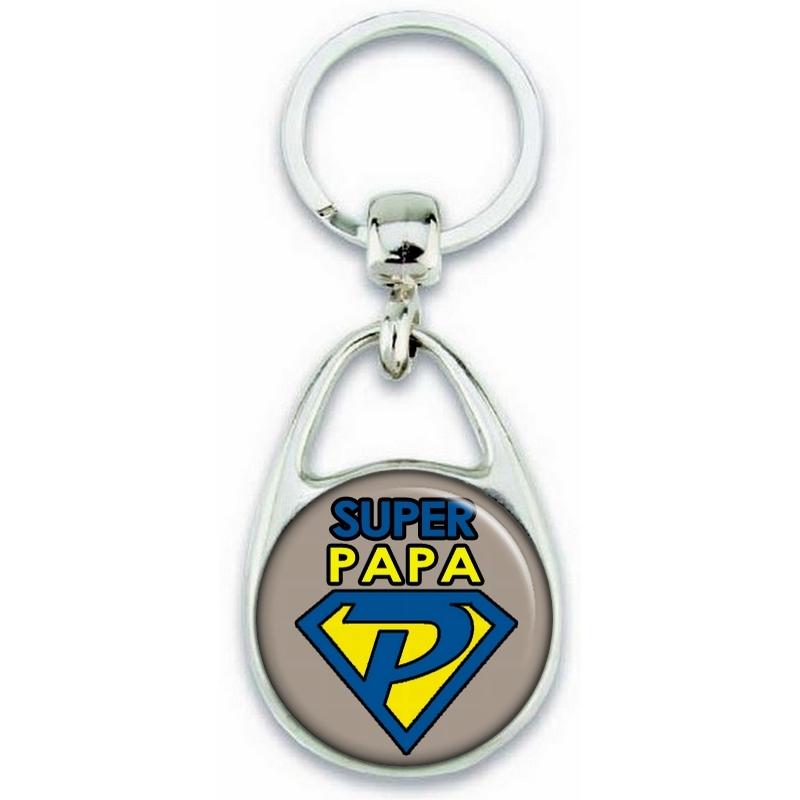 idées cadeau pour papa - porte clés personnalisable