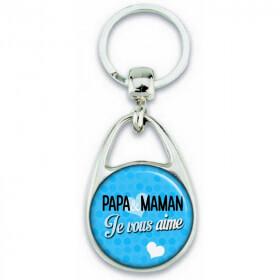 porte clés pour maman et papa en vente sur em-creation.fr - Em création