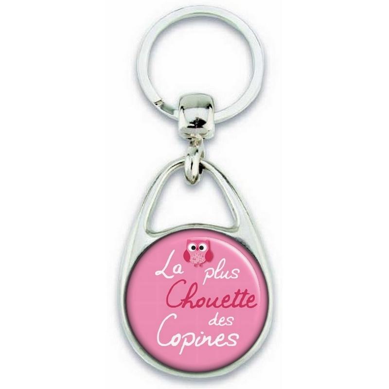 Porte clés Copine - Idée cadeau pour la plus chouette des copine - angora