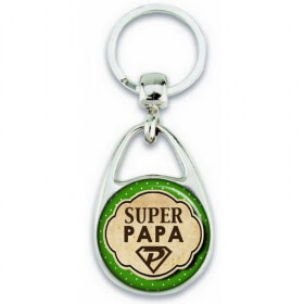 super papa - porte clé pour papa - Em création