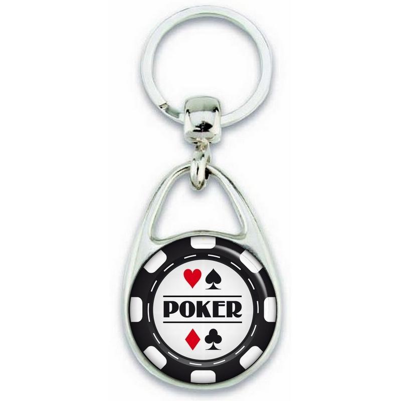 porte clé poker - cadeau poker -porte clé jeton de poker