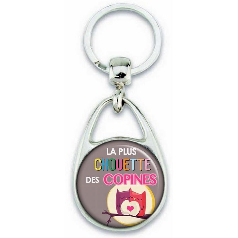 Porte clés copine - Idée cadeau pour copine - Angora