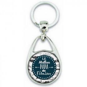 porte clé papa- cadeau original pour papa - idées cadeaux papa - Em création