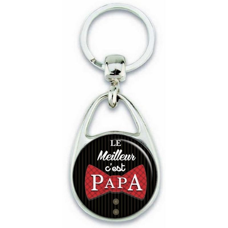 Porte clés Papa - Idée cadeau Papa - Anniversaire - meilleur Papa