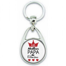 Porte clés Papa - Idée cadeau Papa - Anniversaire - meilleur Papa - Em création