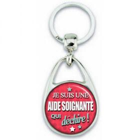 Porte clés Aide Soignante - Idée cadeau Aide Soignante - Anniversaire Aide Soignante - Em création