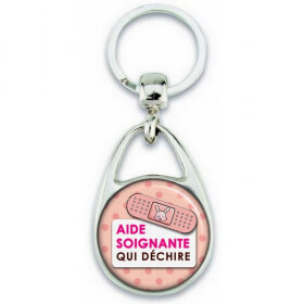 Porte clés Aide Soignante - Em création