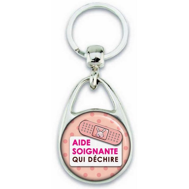 Porte clés Aide Soignante