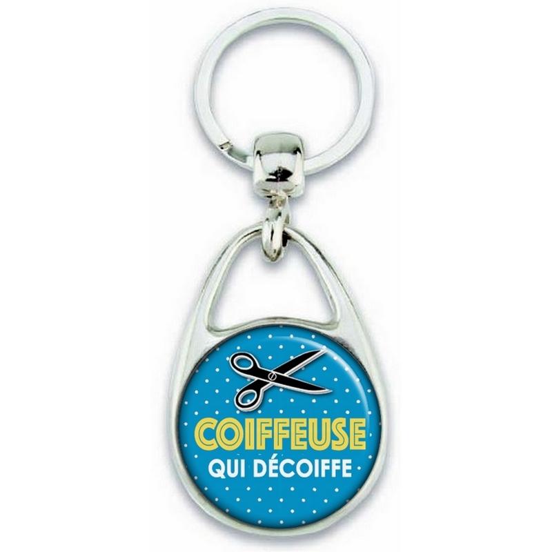 Porte clés Coiffeuse - Idée cadeau Coiffeuse