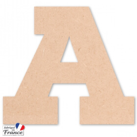 Lettre en bois Typoster