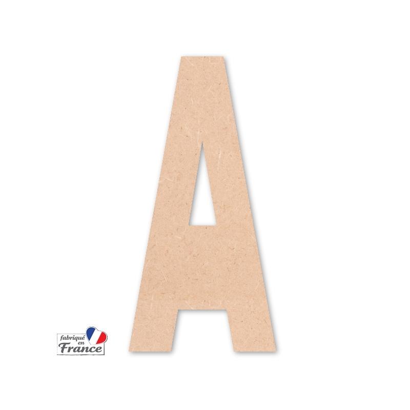 Lettre en bois Fabriqué en France - MIRIS