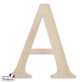 Lettre en bois extérieur - 15cm - Miris - Em création