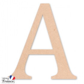 Lettres décoratives en bois - Miris - Em création