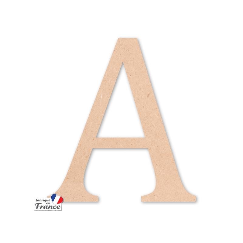 Lettres décoratives en bois - Miris