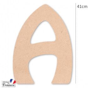 Grande lettres en bois à décorer DIY - Miris - Em création