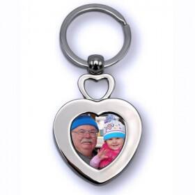 Porte clés Coeur Personnalisé - Em création