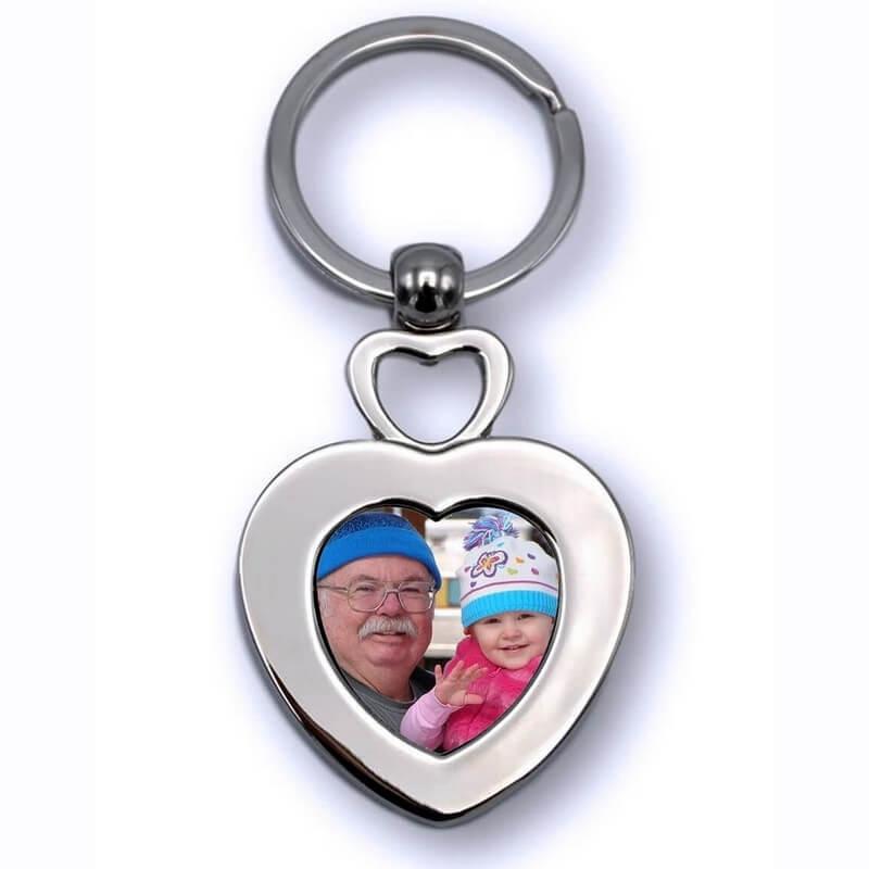 Porte clés Coeur Personnalisé