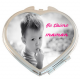 Miroir personnalisé coeur