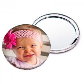 Miroir de poche personnalisé - Angora - Em création